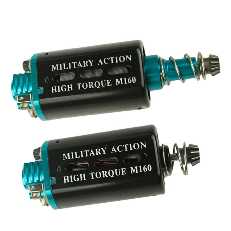 New M160 High Torque Heat dissipation Type  AEG Motor Long/Short Axis for Airsoft AK M16/M4/MP5/G3/P90 AEG Hunting Accessories