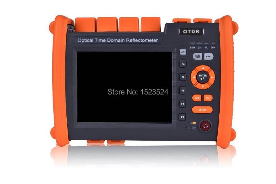 T-OT650S35A 32/30dB SM 1310/1550nm Optische Zeit Domain Reflektometer Lichtwellen OTDR mit in VFL Touch bildschirm