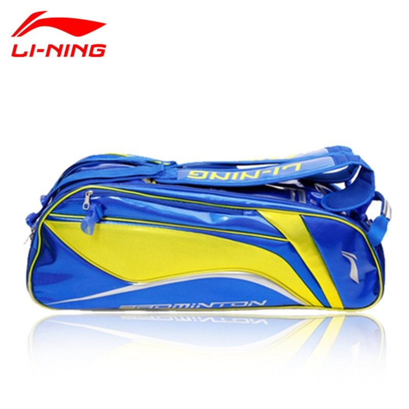 Li-Ning China Nation Team Badminton Racket Bag ABJJ054 ABJJ058 Lining 6/9 Racquet Bag For Men and Women Li Ning Sport Backpack
