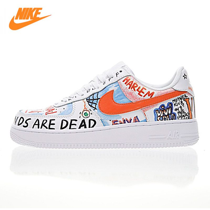 NIKE AIR FORCE 1 LOW Men and Women Skateboarding Shoes ,White,Abrasion Resistant Non-slip Waterproof Packaged 923088 100