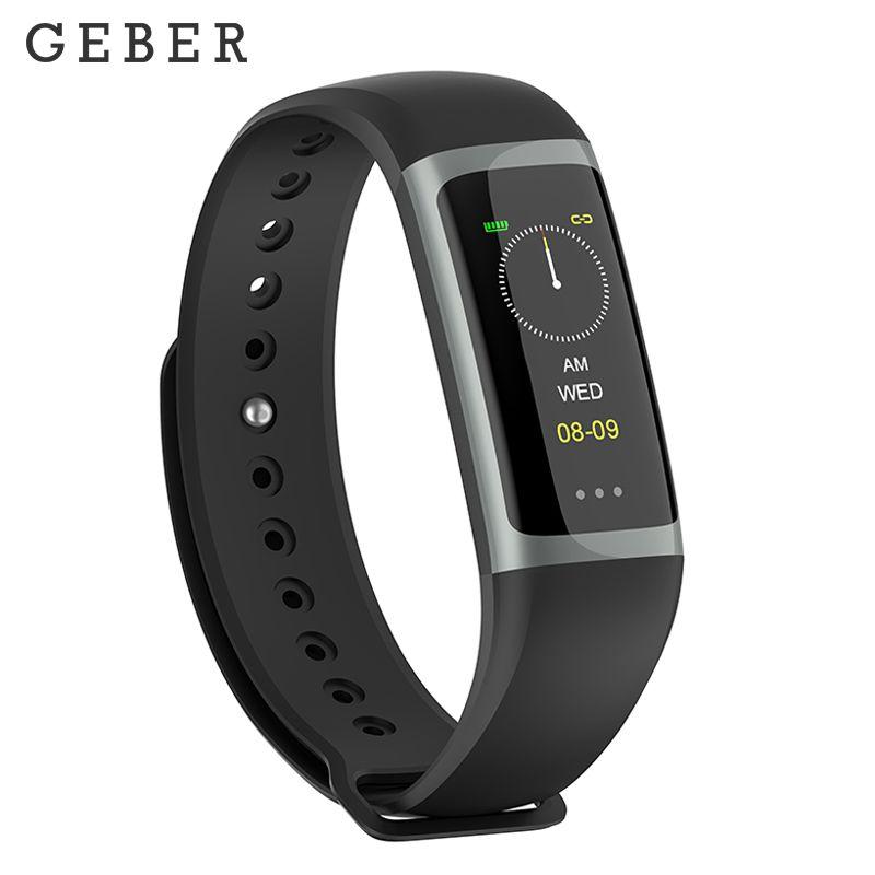 GEBER Smart Bracelet g26 Heart Rate Tracker Blood Pressure Blood Oxygen Monitoring Waterproof IP67 Smart Wristband tezer