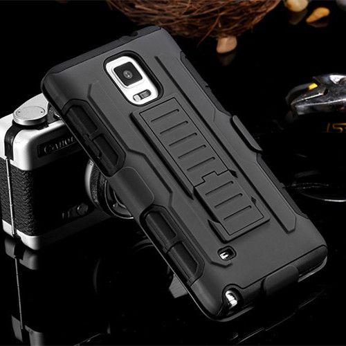 Pour samsung S5 Cas Antichoc Militaire Ceinture Combo Silicone Téléphone Cas pour Samsung Galaxy S4 S3 Couverture Arrière Hoesje avec Clip Ceinture