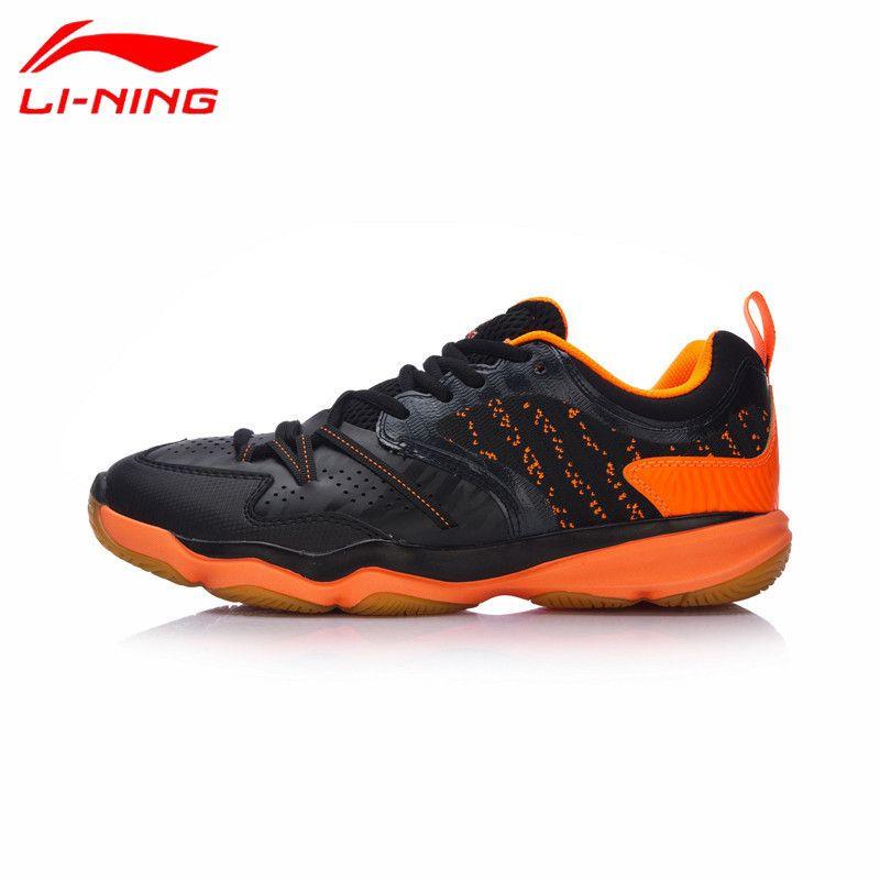 2017 neue Li Ning Männer Badminton Schuhe Professionelle Breathable Turnschuhe Verschleißfestigkeit RANGER TD Futter Sportschuhe AYTM081 L731