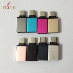 ITSYH Type C OTG Adapter Android Converter Usb 2.0 Phone otg For Samsung leshi  Type-C OTG Adapter TW-249