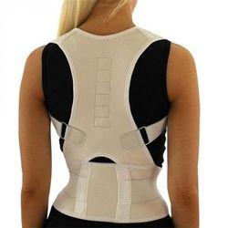 Hommes de Soutien Orthopédique Retour Ceinture Corriger Posture Brace Correcteur de Posture 10 Aimants XL XXL B002 Magnétique Posture Correcteur
