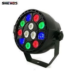 LED Par 12x3W RGBW LED Stage Light Par Light With DMX512 for disco DJ projector machine Party Decoration