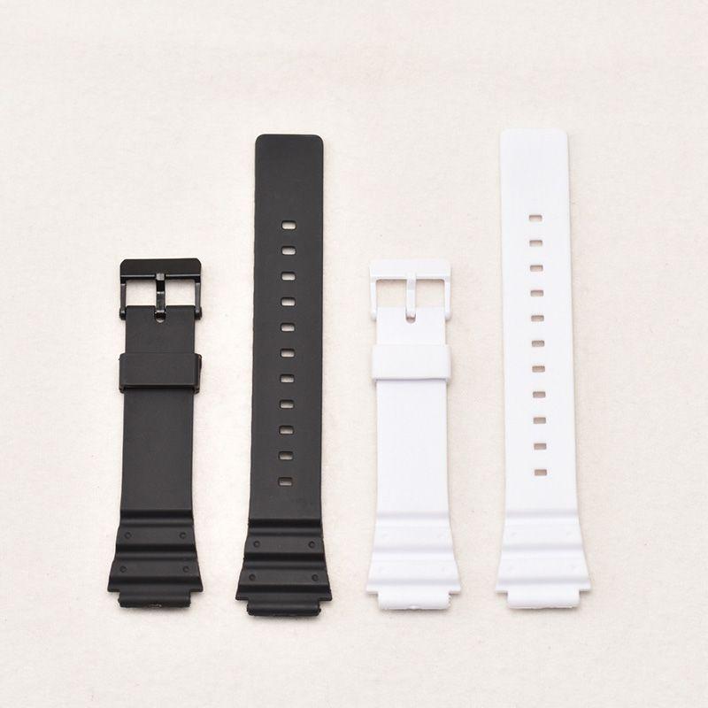 Armband Silikon Gummi Band Männer Sport Strap Für CASIO MRW-200H Ersetzen 18mm Elektronische Armbanduhr Gürtel Uhr Zubehör