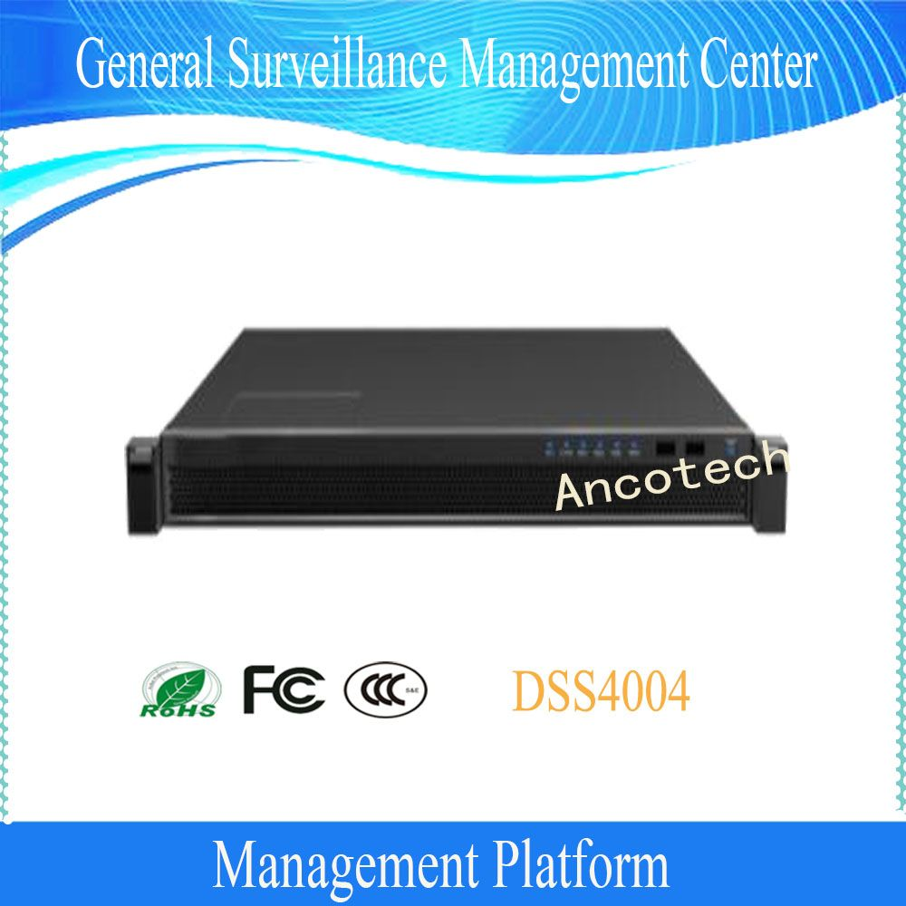 Dahua General Surveillance Management Center Compatible With Camera NVR DVR MDVR ITC Access Control VDP Alarm No Logo DSS4004