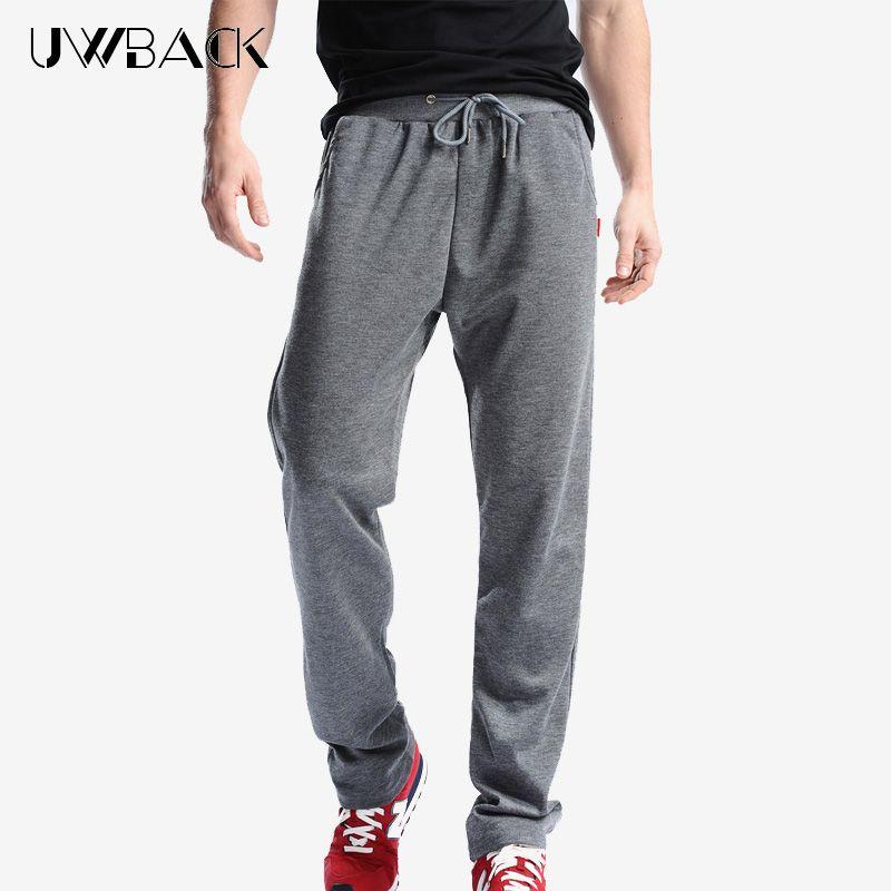 Uwback 2017 Plus Größe 4XL Neue Trainingshose Männer Jogger Hosen elastische Taille Lose Schweiß Hosen Für Männer Casual Hosen homme CAA329