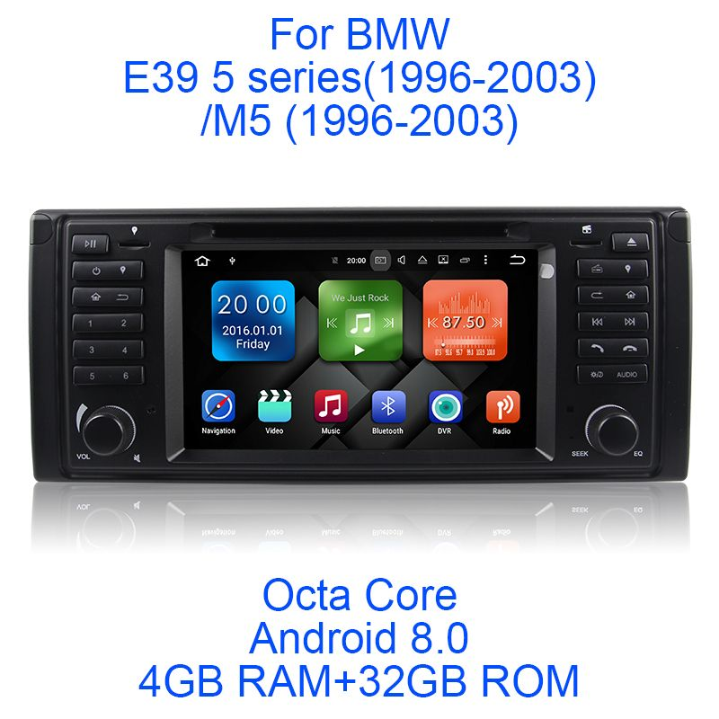 Newest Android 8.0 Octa Core 4G RAM 32G ROM GPS Navigation 7