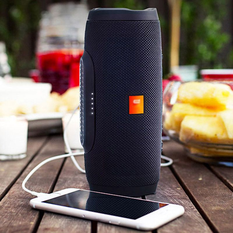 Portable Bluetooth speaker multi-function Bluetooth speaker waterproof stereo bass effect outdoor speaker all electronic product