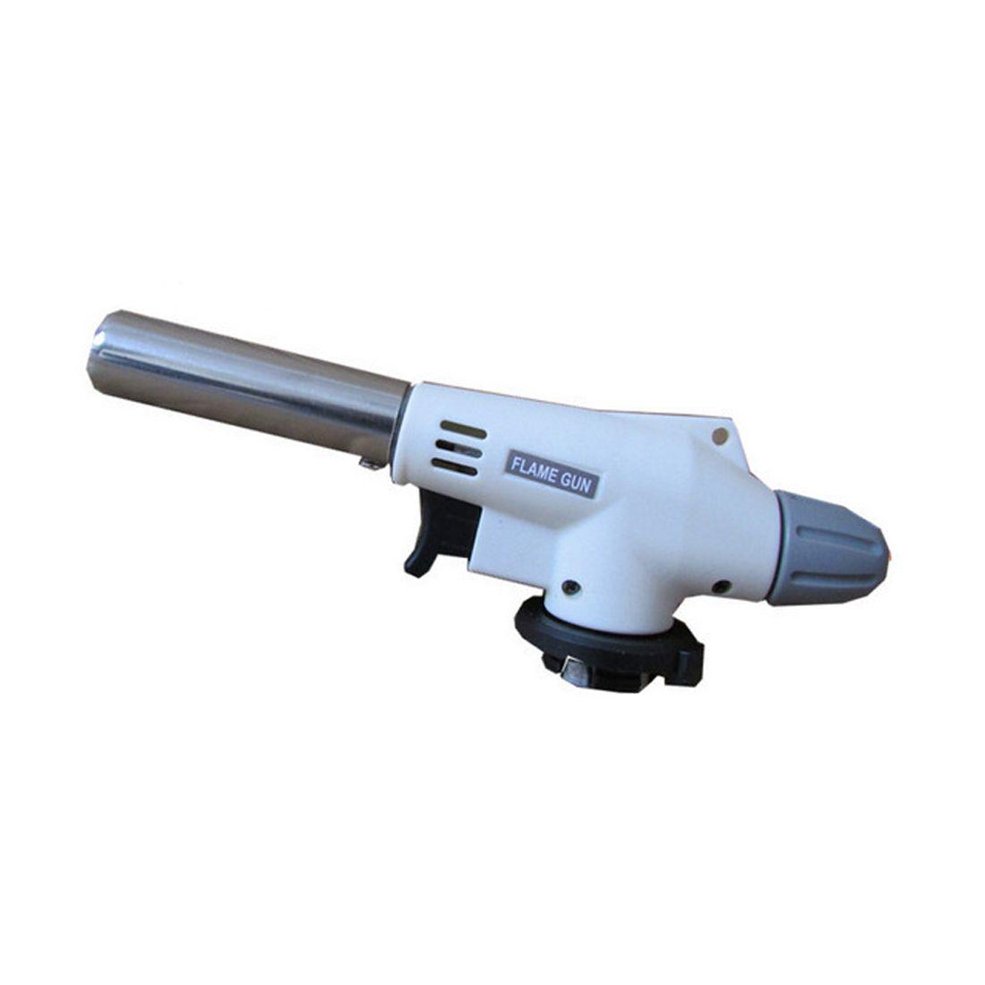 Gas Torch Flame Gun Blowtorch Cooking Soldering Butane AutoIgnition gas-Burner Lighter Heating Welding Gas burner Flame
