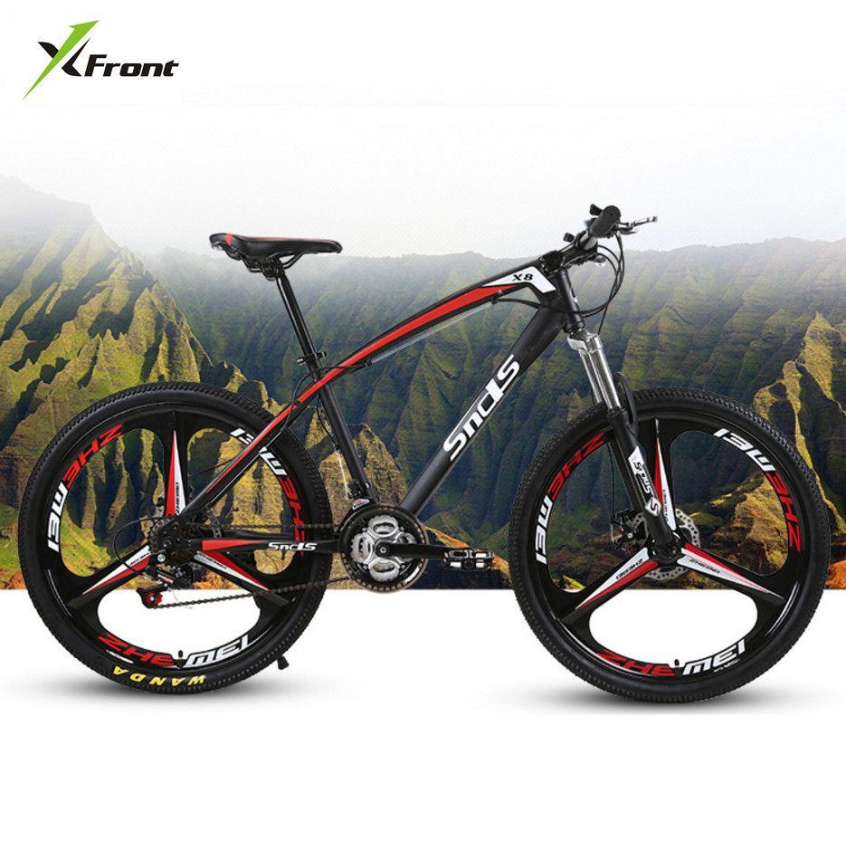 Neue marke Kohlenstoff Stahlrahmen Mountainbike 26 Zoll Rad 21/24/27 Geschwindigkeit Scheibenbremse Outdoor Downhill MTB Bicicleta Fahrrad