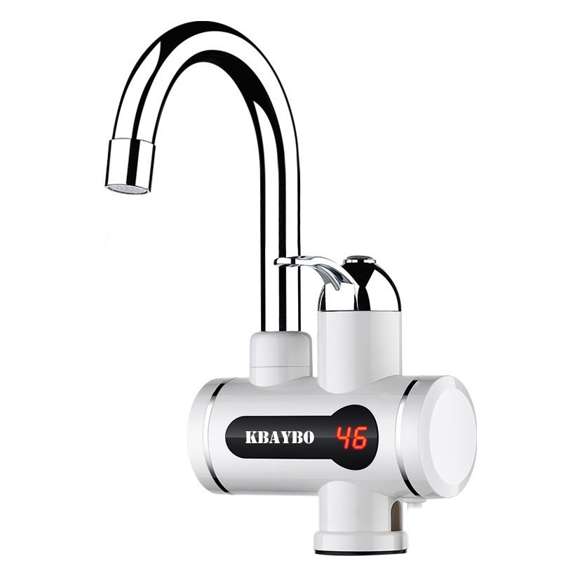 instant water heater electric faucet 3000W kitchen/bathroom hot water heating tap tankless-water-heater with shower