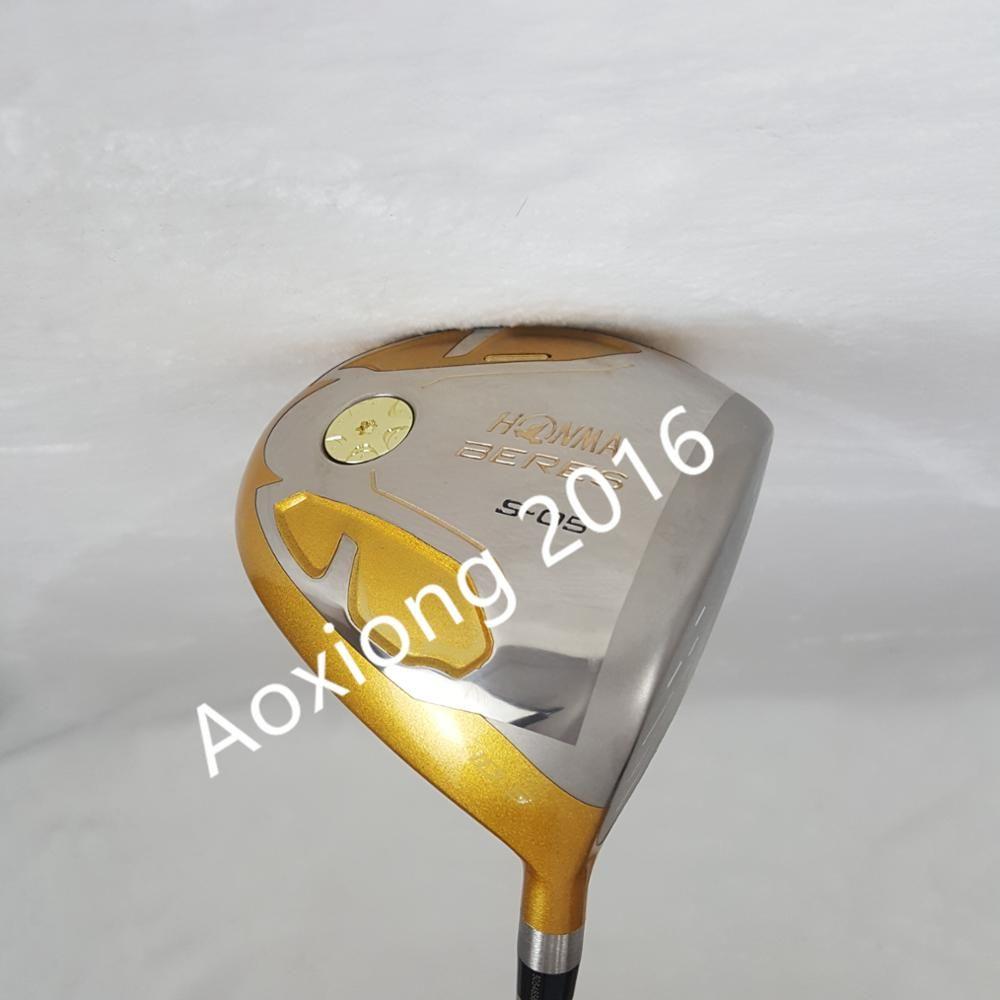 New mens Golf clubs driver Honma s-05 4 Star Golf driver 9.5 or 10.5 loft Graphite shaft R S flex driver clubs Free shipping