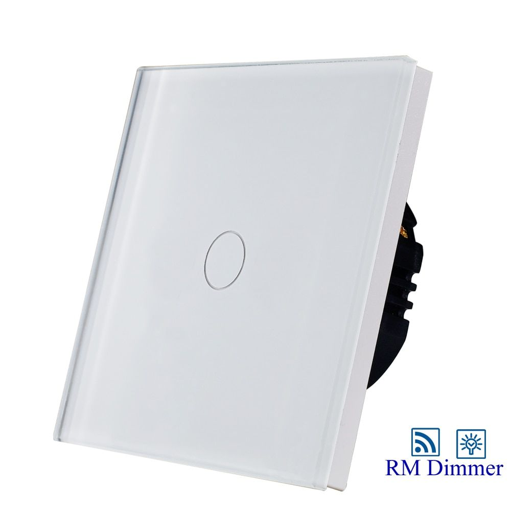 Hot Sale 1gang 1way touch remote dimmer switch for light