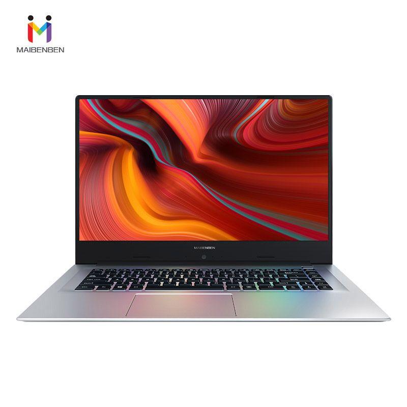 Ultra-dünne büro laptop MAIBENBEN XIAOMAI 6A 15,6