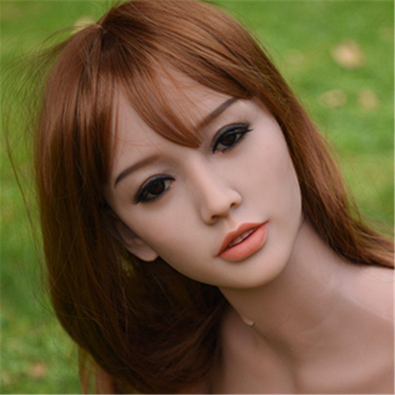 WMDOLL sex puppe kopf American European Asiatische gesicht 76 # für wmdoll 140 cm-170 cm liebespuppe körper