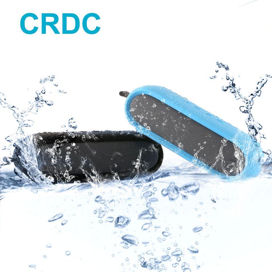 CRDC Portable Sans Fil Bluetooth Haut-Parleur Colonne Boîte Basse Mini Haut-Parleur Subwoofer Stéréo Haut-Parleur Étanche pour iPhone Xiaomi