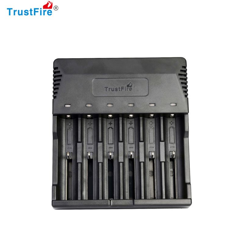 Trustfire TR-012 Universal Digicharger Intelligent Battery Charger With 6 Slot for 18650/18350/16340/14500/AA/AAA