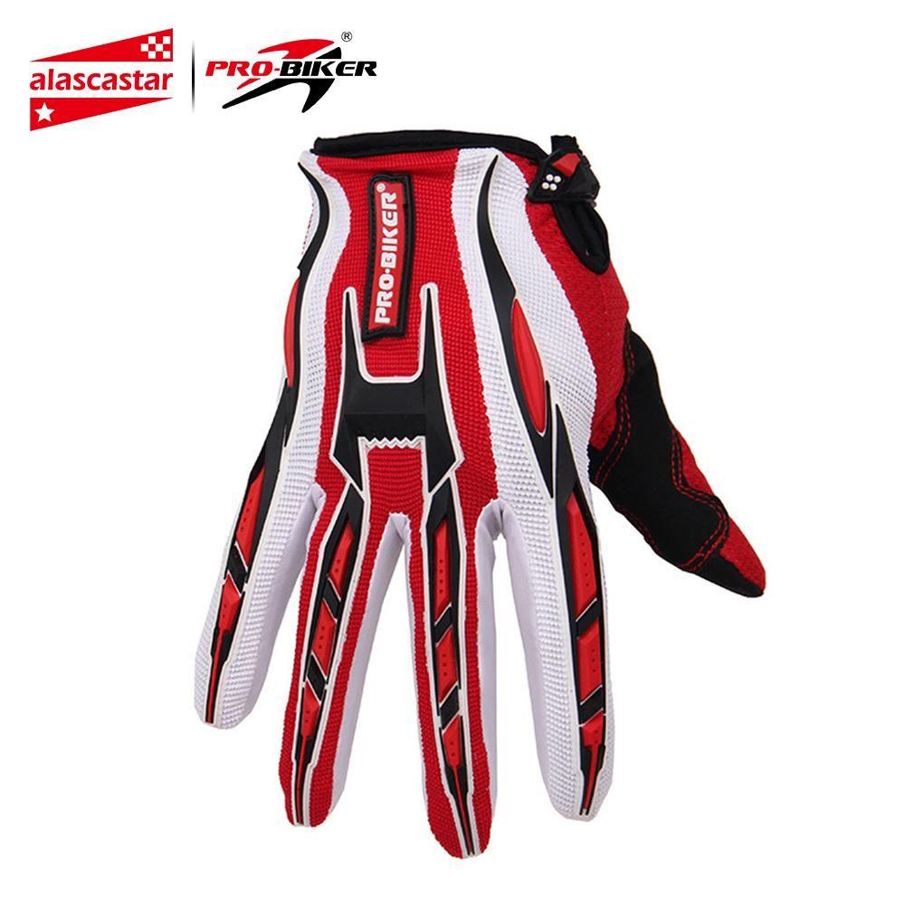 PRO-MOTARD gants de moto Moto Racing Vélo Complet Doigt Gants Vélo VTT Dirt Bike Motocross Off-Road gants d'équitation