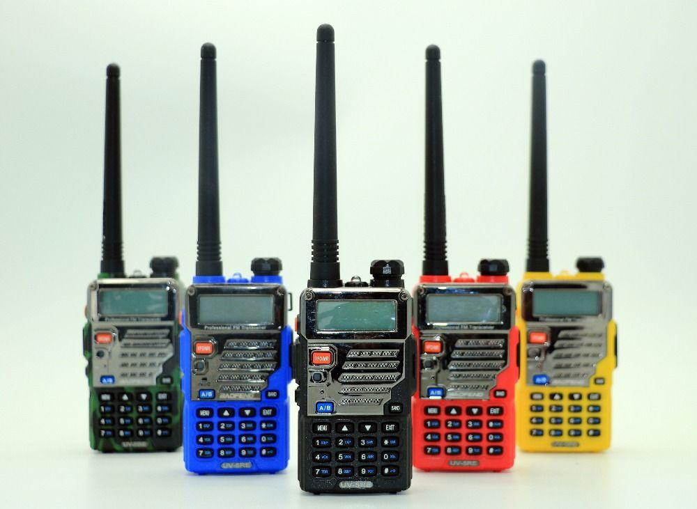 2pcs Baofeng UV-5RE Walkie Talkie Dual Band UV 5RE CB Radio 128CH VOX Flashlight Portable Radio Professional FM Transceiver