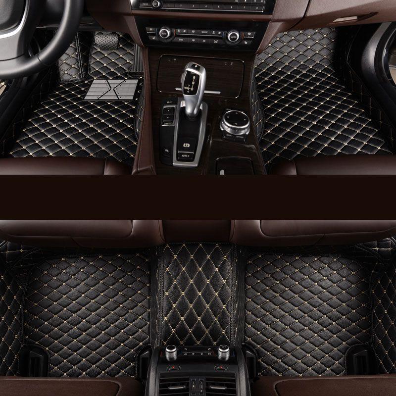 Kalaisike Custom car fußmatten für BMW alle modell 535 530X3X1X4X5X6 Z4 525 520 f30 f10 e46 e90 e60 e39 e84 e83 auto styling