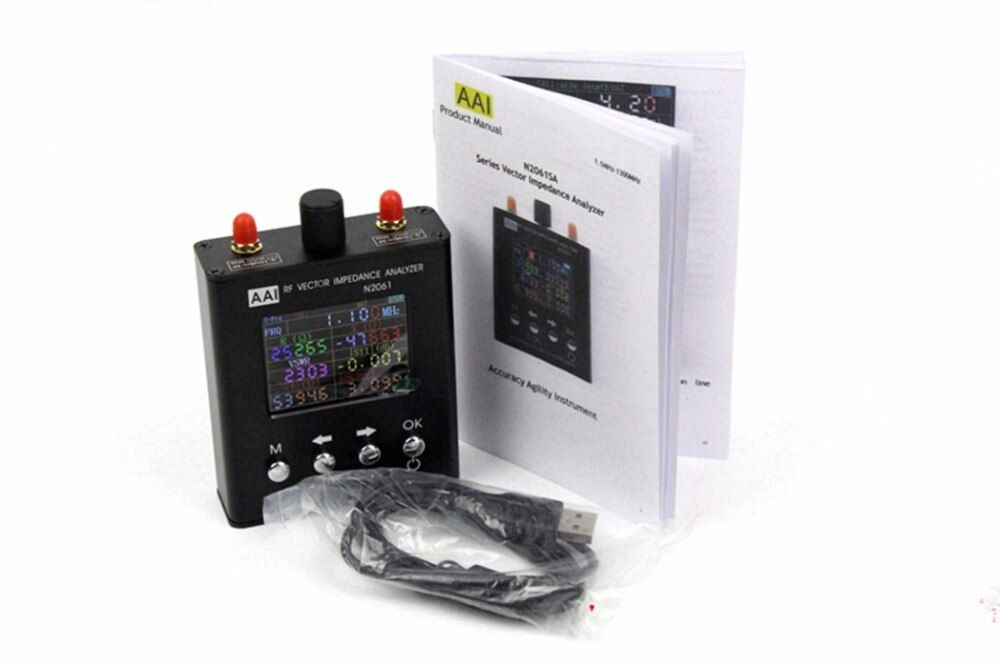 2018 New English verison N2061SA UV RFID Vector Impedance Antenna Analyzer 1.1MHz-1.3GHz (Upgraded version for N1201SA)