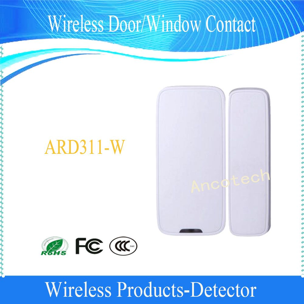 Free Shipping DAHUA Wireless Door/Window Contact Magnet Entry Detector Sensor Without Logo (ARD311-W)