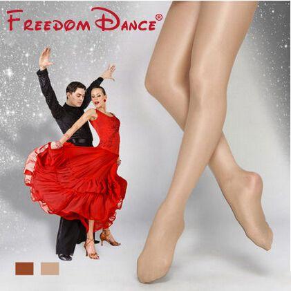 Livraison gratuite pas cher prix haute qualité pied danse collants chatoyants scène chatoyant Ballet danse collants pour les femmes (D004918)