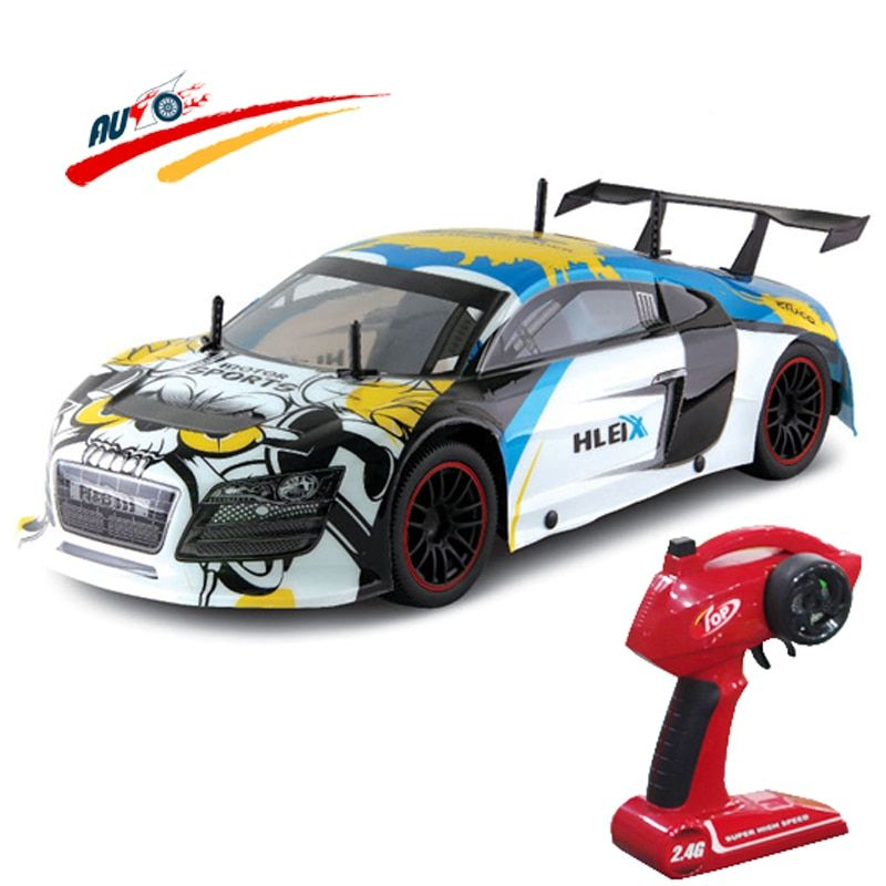 RC Car For R8 GT 2.4G Racing Drift Car 1:10 High Speed Champion Car Radio Control Vehicle Model Electric Hobby Toy