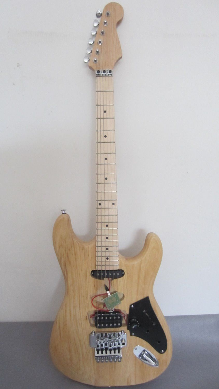 free shipping evh frankenstrat guitar kits /charvel unfinished guitar /DIY guitar for Eddie's Frankenstein/Frankenstrat Guitar