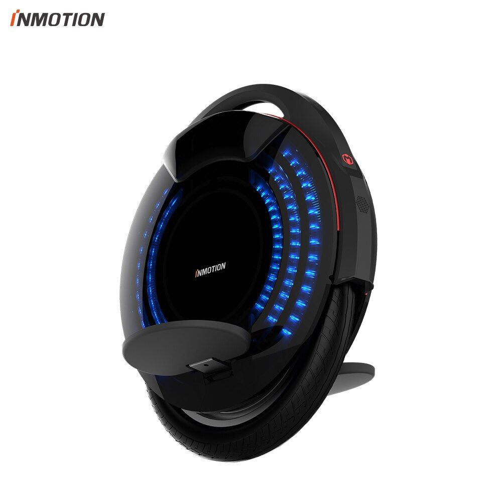 INMOTION V8 Electric Unicycle Monowheel Onewheel Selfbalancing Scooter EUC Off-road APP With Decorative Lamps Electric Scooter