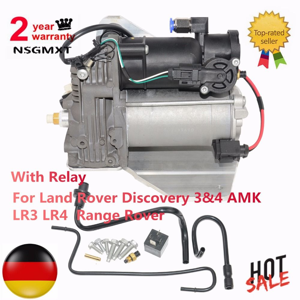 Air Suspension Compressor For Land Rover Discovery 3&4 AMK LR3 LR4 Range Rover LR015303 LR023964 6H2219G525BE LR045251