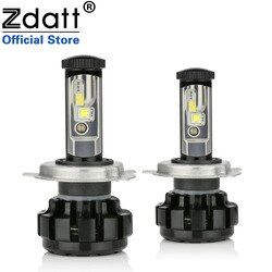 Zdatt H4 Led Headlights H7 H11 LED car lamps Ice Lamp Canbus Diode lamps for cars 9005 HB3 9006 HB4 12V 24V Auto Products