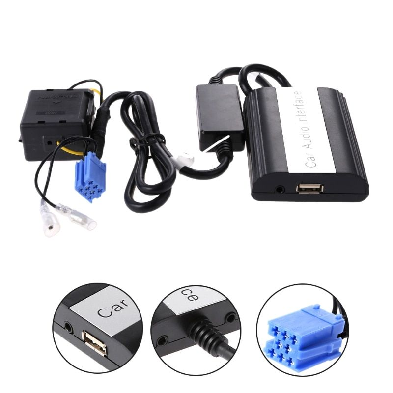1 Set Car Bluetooth Kits MP3 AUX Adapter Interface Für Renault Megane Clio Scenic Laguna Tropfen Verschiffen Unterstützung