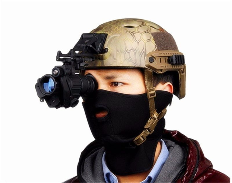 PVS 14 Tactical Infrared Night Vision Device Powerful HD Digital IR Monocular Night Vision For Hunting Shooting PVS-14