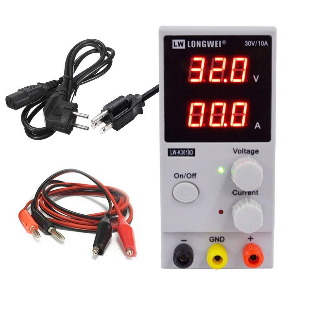 LW 3010D DC Alimentation Réglable Numérique Batterie Au Lithium De Charge 30 v 10A Commutateur Laboratoire Alimentation Régulateur de Tension