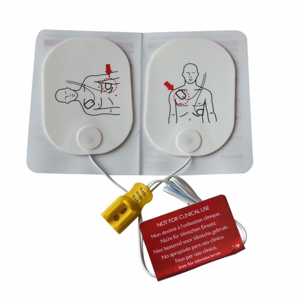 10 Paare/los Erwachsene Ausbildung Ersatz Pads AED Ausbildung modell universal trainer