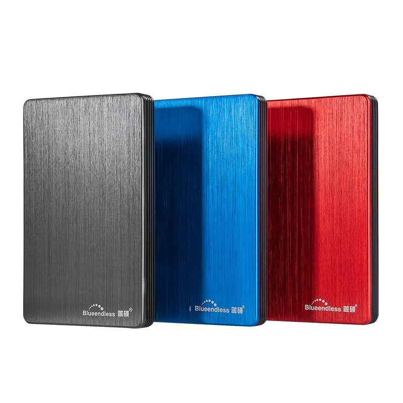 Blueendless USB 3.0 Portable External Hard Drive Disk HDD 2.5