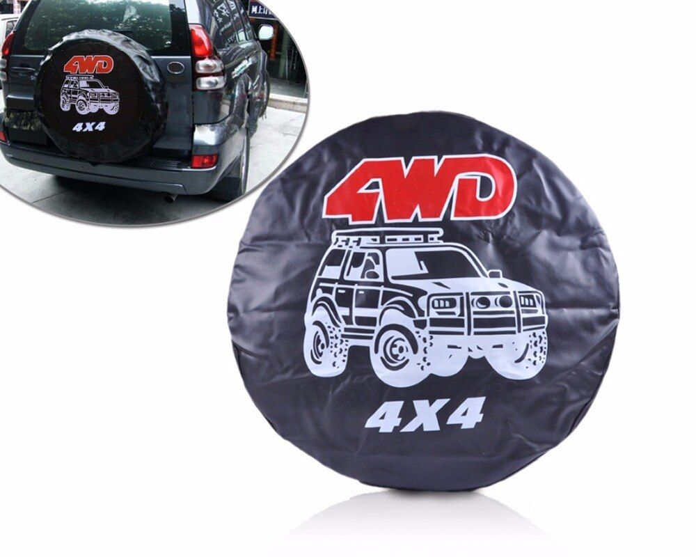CITALL 31-32  Size: L Spare Wheel Tire Tyre Soft Cover With 4WD For Chevrolet Kia Hyundai Nissan Renaut Toyota VW SUV