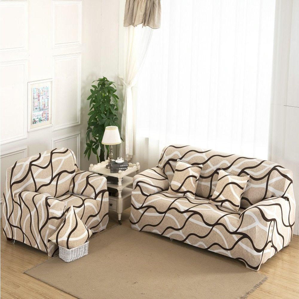 Universal Sofa <font><b>Cover</b></font> Flexible Stretch Big Elasticity Couch <font><b>Cover</b></font> Loveseat Sofa Funiture <font><b>Cover</b></font> Sofa Towel 1/2/3/4-seat Sofa Funda
