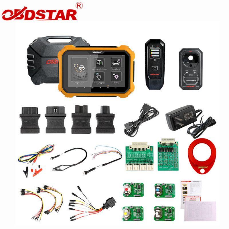 OBDSTAR X300 DP PLUS X300DP PLUS C Paket Voll Version 8 zoll Tablet Unterstützung ECU Programmierung und für Toyota Smart Key mit P001