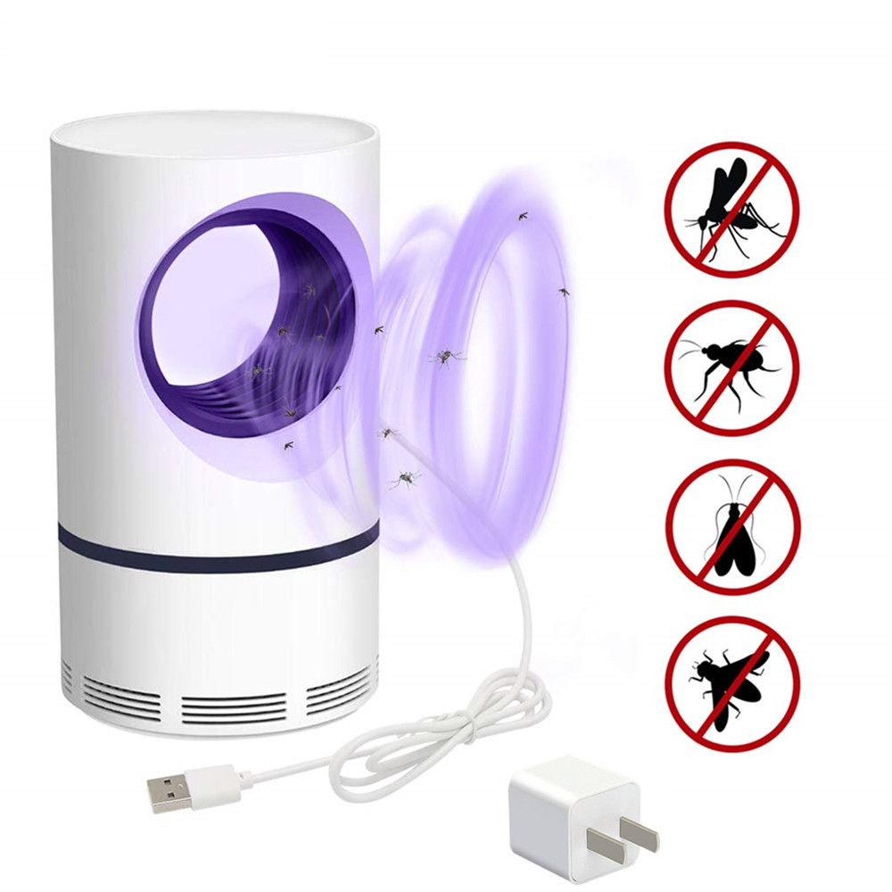 USB Electric Mosquito Killer Lamp Pest Control Anti Mosquito Killer Fly Trap LED Light Lamp Bug Insect Repeller Zapper DropShipp