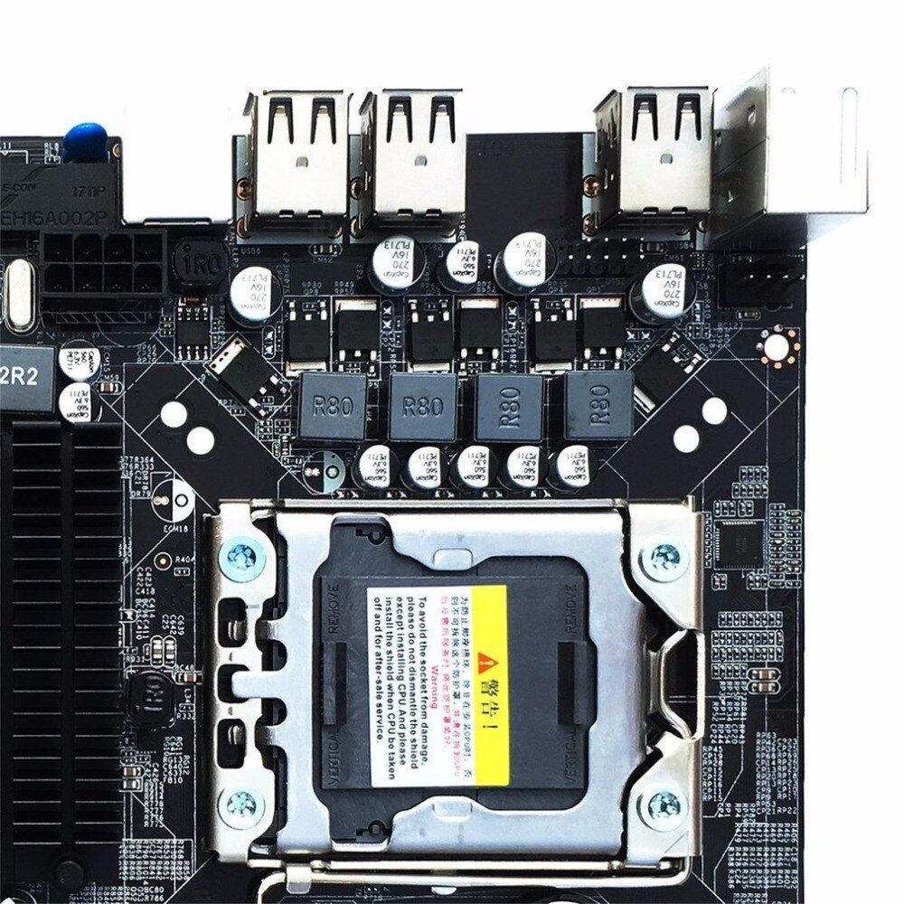 Desktop Motherboard Computer Mainboard For X58 LGA 1366 DDR3 16GB Support ECC RAM Wholesale