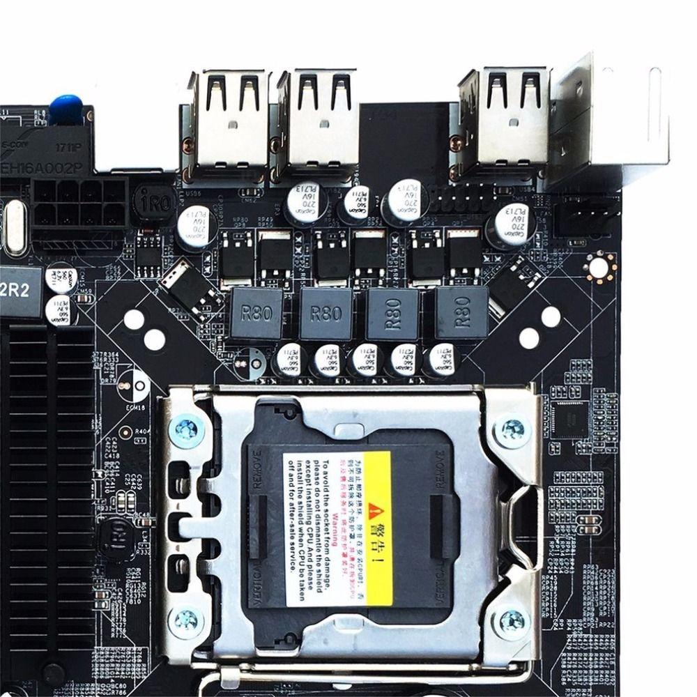 Desktop Motherboard Computer Mainboard For X58 LGA 1366 DDR3 16GB Support ECC RAM Wholesale