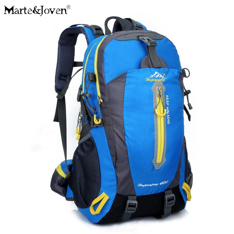 Marke Design Große Kapazität Multifunktions Trekking Reiserucksack Frauen Männer 40 Liter Oxford Wasserdichte Haltbar Gepäck Rucksack