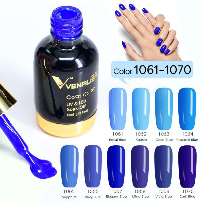 111pcs*12ml VENALISA Gel Varnish Lacquer CANNI Nail Art Design Super Shining Glitter Starry High Quality UV LED Gel Nail Polish