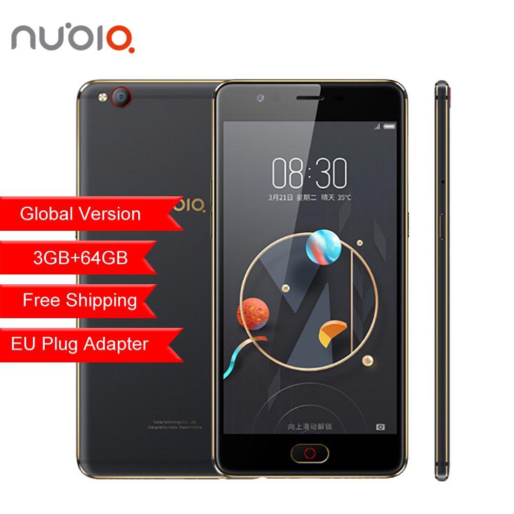 Original ZTE Nubia M2 LITE Mobile Phone 4G LTE Global Firmware MT6750 Octa Core 5.5