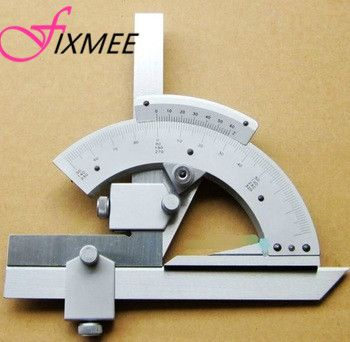 Fixmee 0-320Precision Angle Measuring Finder Scales Universal Bevel Protractor Tool